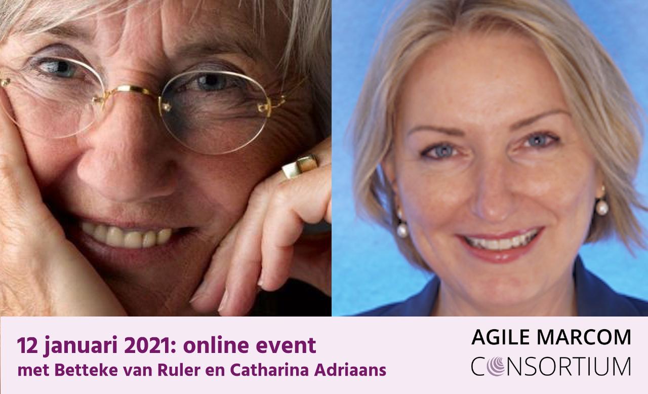Betteke van Ruler en Catharina Adriaanse spreken online op 12 januari 2020